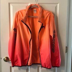 Victoria's Secret wind breaker zip up jacket!
